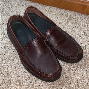 Nunn Bush Brown Leather Driving Loafers- Size 9